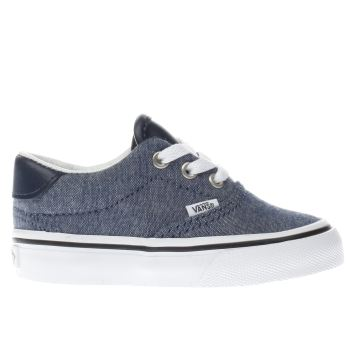 VANS NAVY ERA 59 BOYS TODDLER TRAINERS