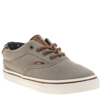 Boys Vans Grey Era 59 Boys Toddler