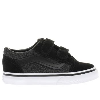Vans Black Old Skool Tdlr Boys Toddler