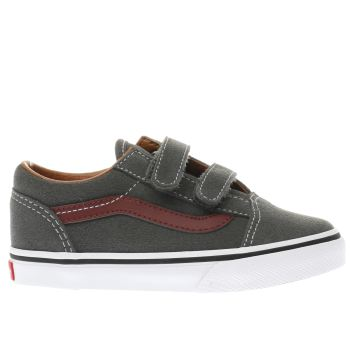 Vans Dark Grey OLD SKOOL Boys Toddler