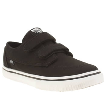 Boys Vans Black Brigata Boys Toddler