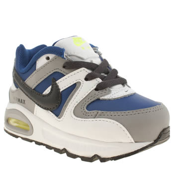 Boys Nike White & grey Air Max Command Boys Toddler