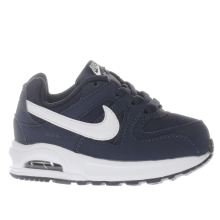 Nike Navy & White Air Max Command Boys Toddler