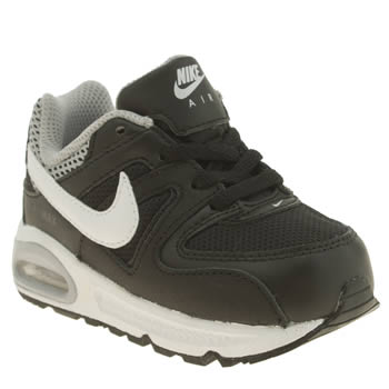 Nike Black & White Air Max Command Boys Toddler