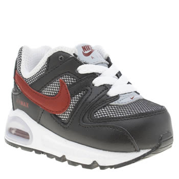 Nike Black & Red Air Max Command Boys Toddler