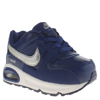 Nike Navy & Grey Air Max Command Boys Toddler
