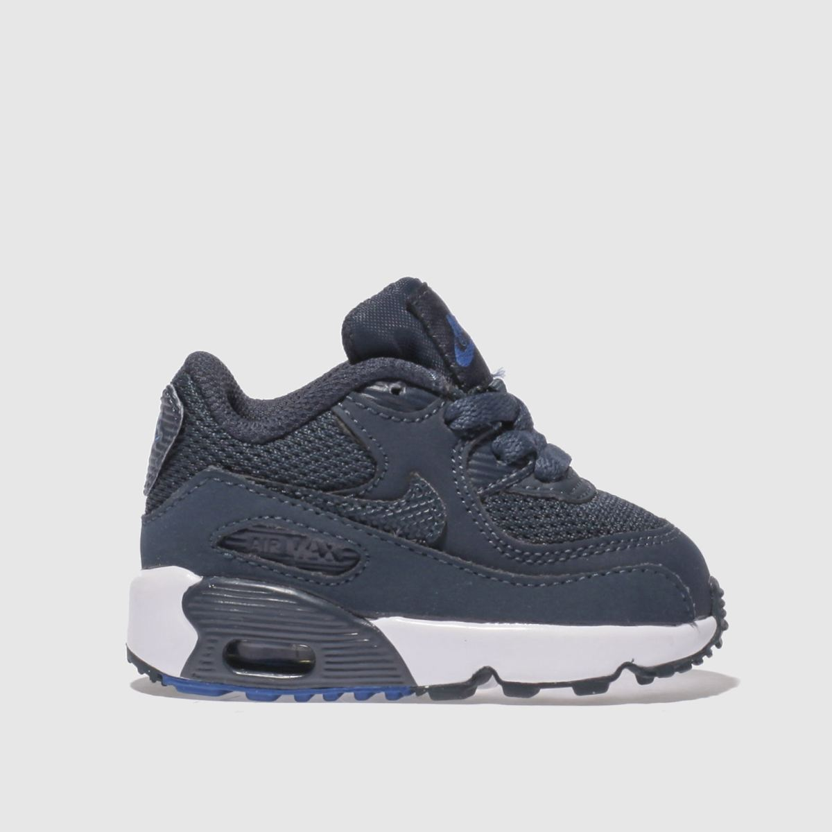 Nike Navy Air Max 90 Mesh Boys Toddler Trainers