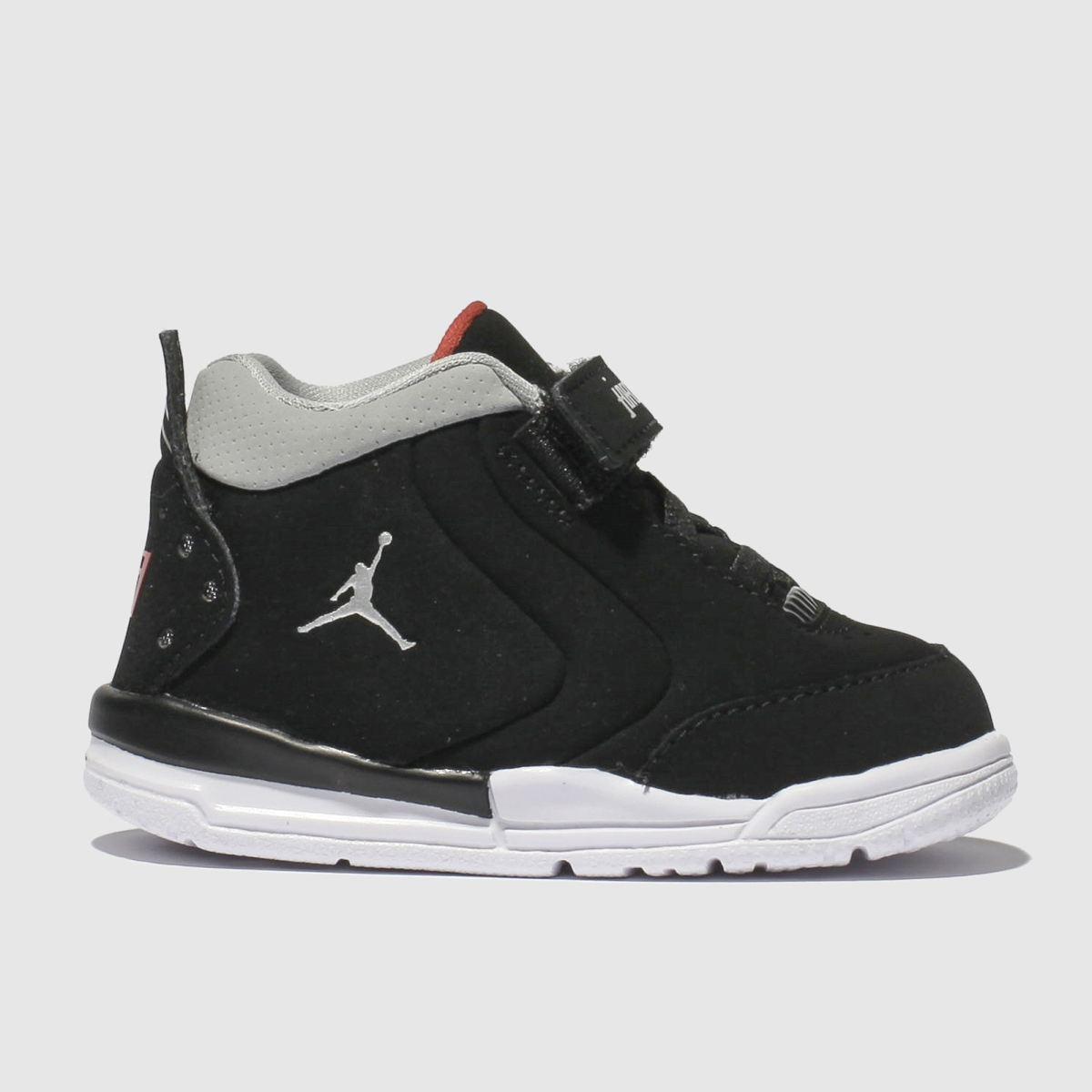 Nike Jordan Black & Silver Big Fund Trainers Toddler