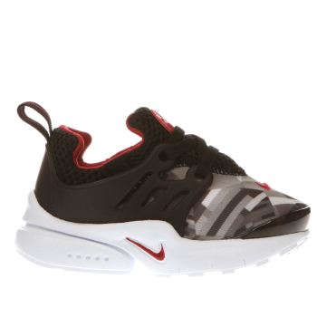 Nike Black & Grey Presto Print Boys Toddler