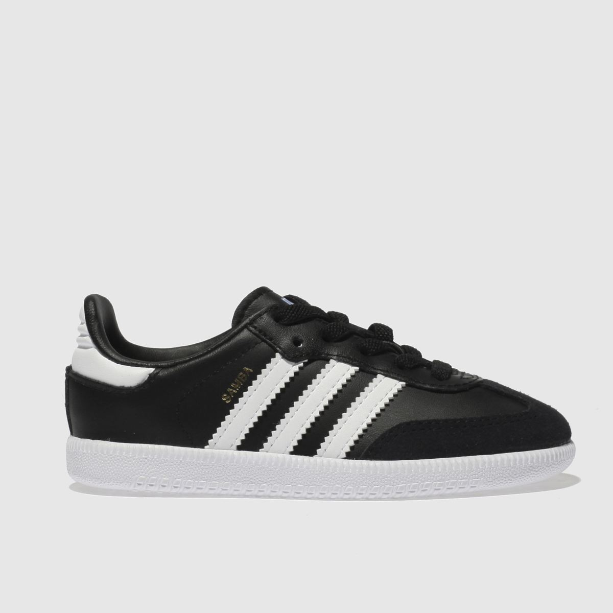 Adidas Black & White Samba Og El Trainers Toddler