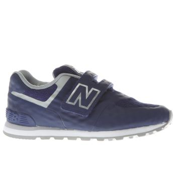 New Balance Navy 574 Boys Toddler