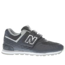 New Balance Dark Grey 574 Breathe Boys Toddler