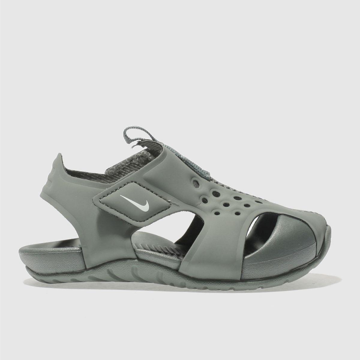Nike Khaki Sunray Protect 2 Boys Toddler Sandals