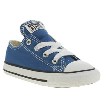 Boys Converse Blue All Star Oxford Boys Toddler