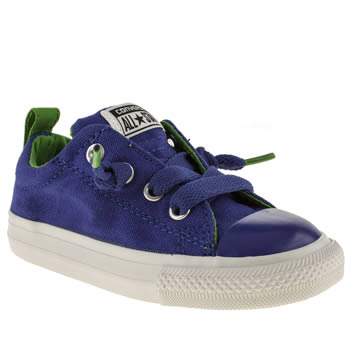 Boys Converse Blue All Star Street Ox Boys Toddler