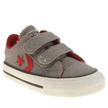 Boys Converse Light Grey Star Player Boys Toddler