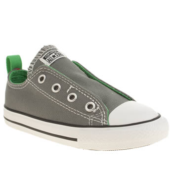 Converse Grey All Star Slip On Oxford Boys Toddler