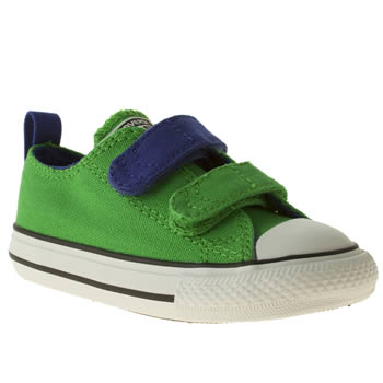 Converse Green All Star Ox V Boys Toddler