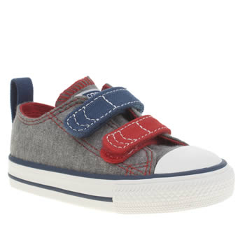 Boys Converse Grey All Star Oxford V2 Boys Toddler