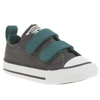 Converse Dark Grey All Star Ox Boys Toddler