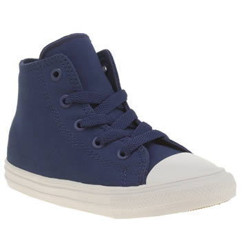 Boys Converse Blue Chuck Taylor Ii Hi Boys Toddler