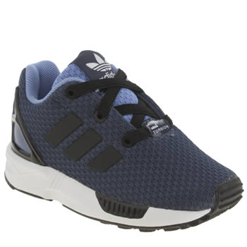 Boys Adidas Navy Zx Flux Boys Toddler