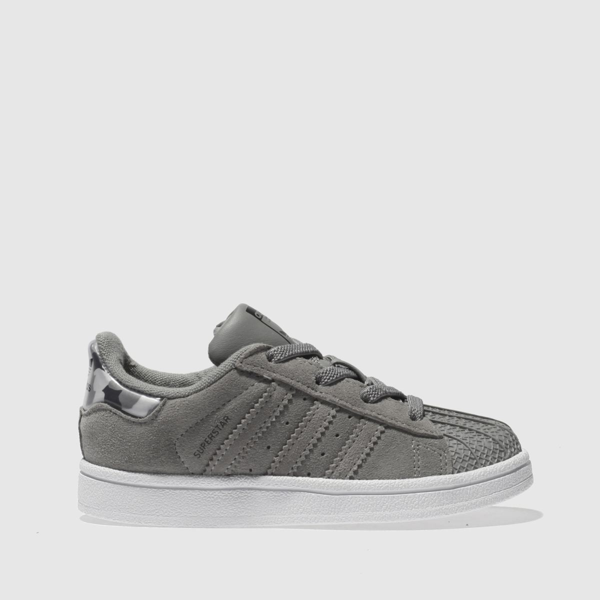 Adidas Grey Superstar Trainers Toddler
