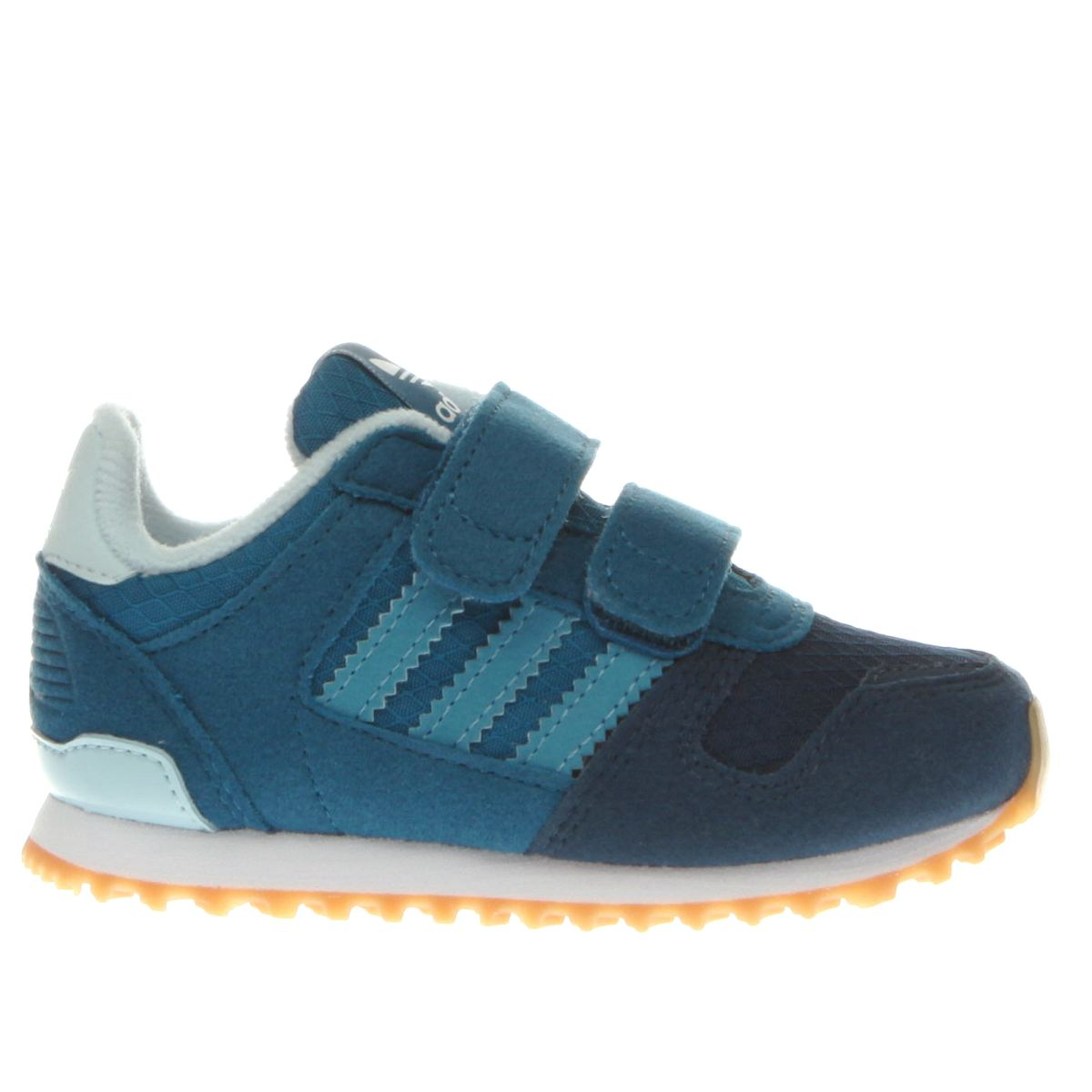 adidas blue zx 700 Boys Toddler Trainers