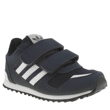 Adidas Navy & White Zx 700 Boys Toddler
