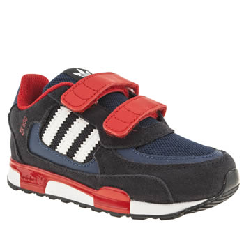 Boys Adidas Navy & Red Zx 850 Cf Boys Toddler