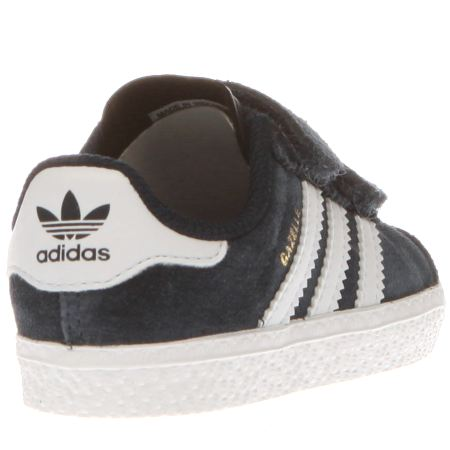 adidas gazelles black kids