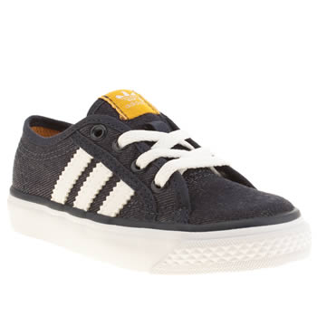 Boys Adidas Navy Nizza Lo Boys Toddler