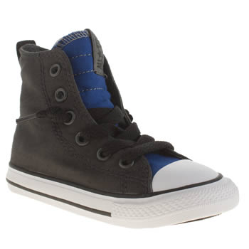 Converse Dark Grey All Star Slip It Boys Toddler