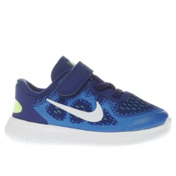 Nike Blue Free Run 2 Boys Toddler