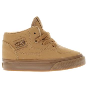 Vans Tan Half Cab Tdlr Boys Toddler