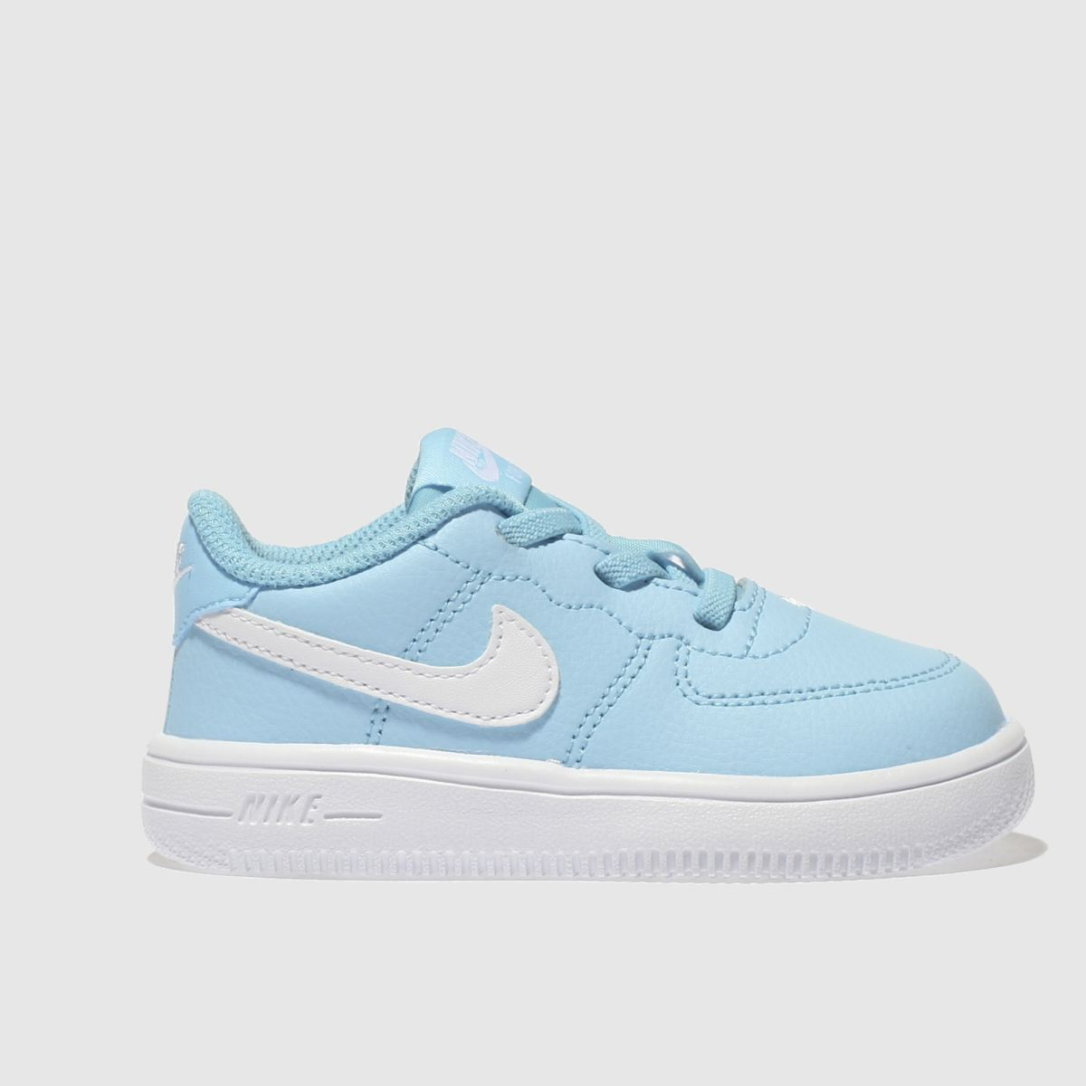 Nike Pale Blue Force 1 18 Boys Toddler Trainers