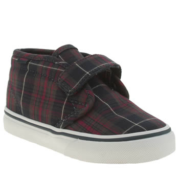 Vans Navy & Red Chukka Boys Toddler