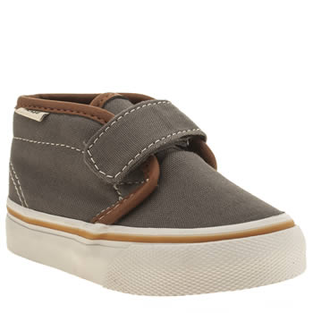 Boys Vans Grey Chukka V Boys Toddler