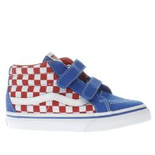 Vans Blue Sk8-mid Reissue V Boys Toddler