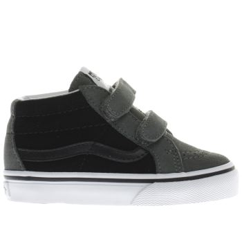 Vans Grey SK8-MID Boys Toddler