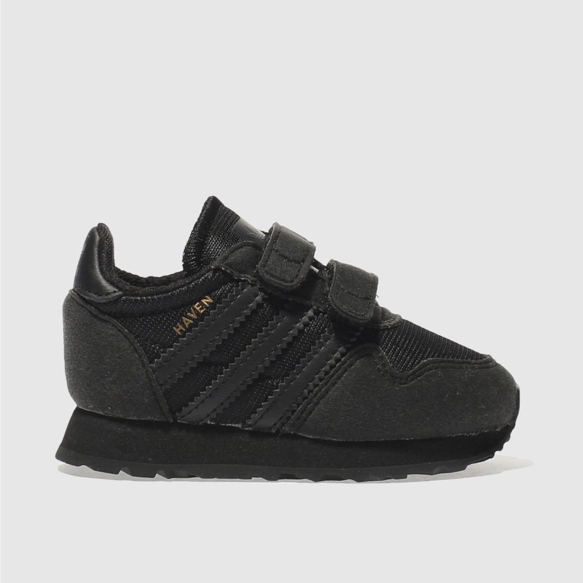 adidas black haven Boys Toddler Trainers