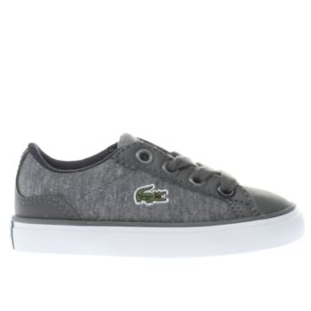 Lacoste Grey Lerond Boys Toddler
