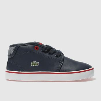 Lacoste Navy & Grey AMPTHILL Boys Toddler