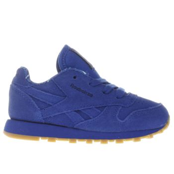 Reebok Blue Classic Leather Tdc Boys Toddler