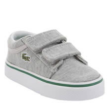 Lacoste Light Grey Vaultstar Boys Toddler
