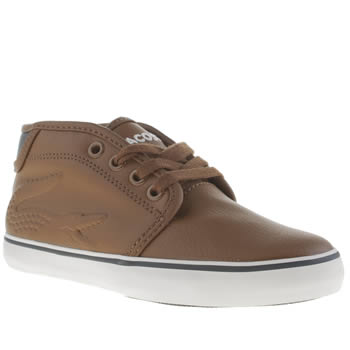 Lacoste Brown Ampthill Chunky Boys Toddler
