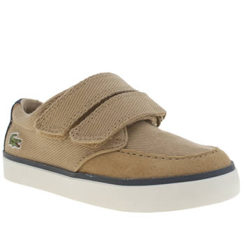 Lacoste Tan Sevrin 116 Boys Toddler