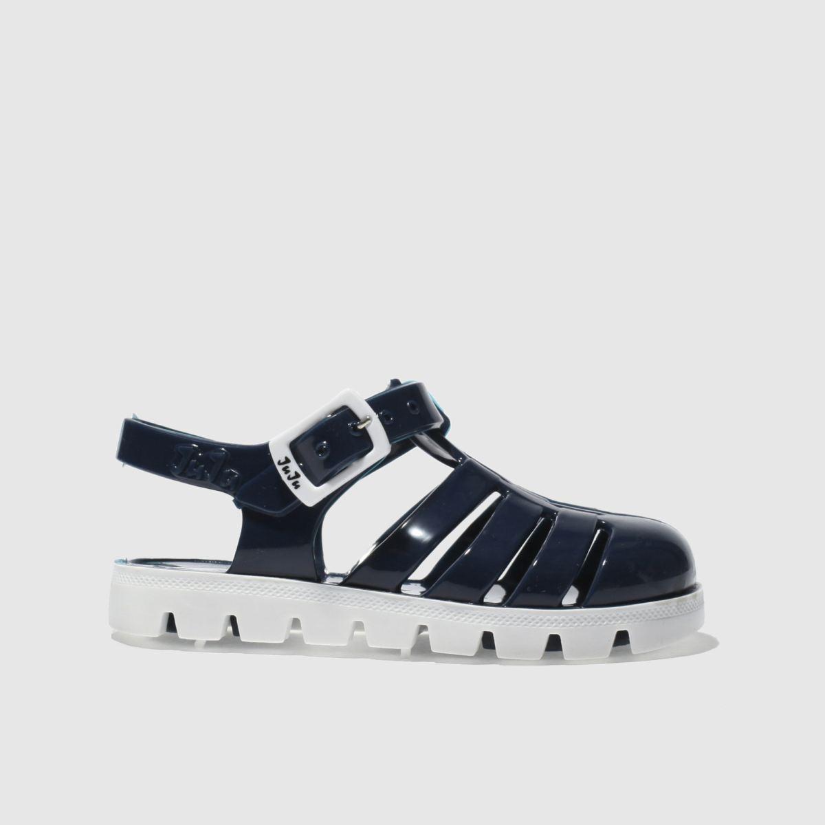 juju jellies Juju Jellies Navy Nino Boys Toddler Sandals