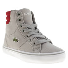 Toddler Grey Lacoste Marcel Mid