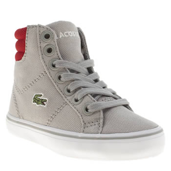 Lacoste Grey Marcel Mid Boys Toddler